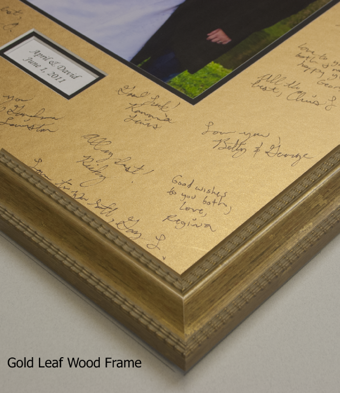 The Gallery At Brookwood 16x20 Signature Mat Gold