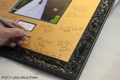 Gold Signature Mat With Gloss Black Frame Jpg